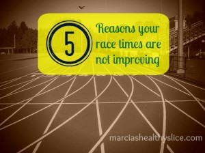 5 reasons your race times are not improving