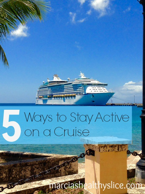 Five ways to stay active on a cruise