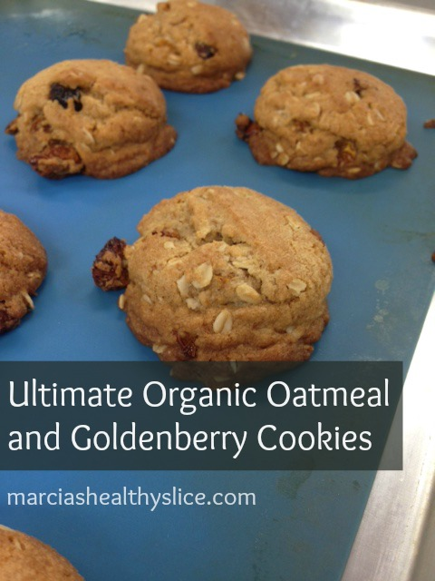 NOW Ultimate Organic Oatmeal and Goldenberry Cookies