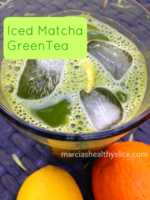 KMO Iced Matcha Green Tea