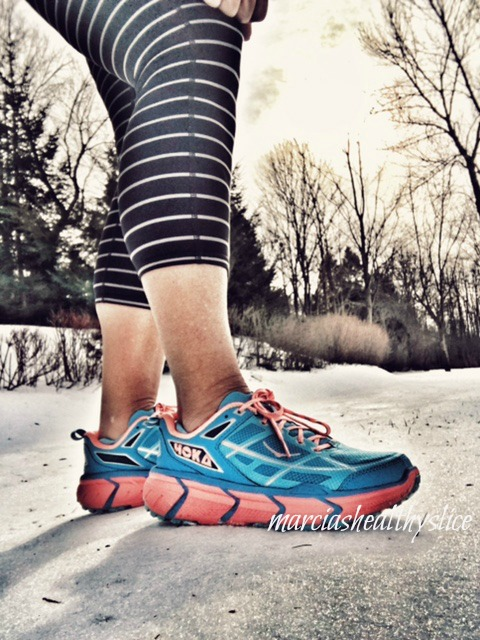 hoka trail shoe