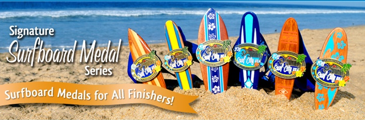 medals surf city