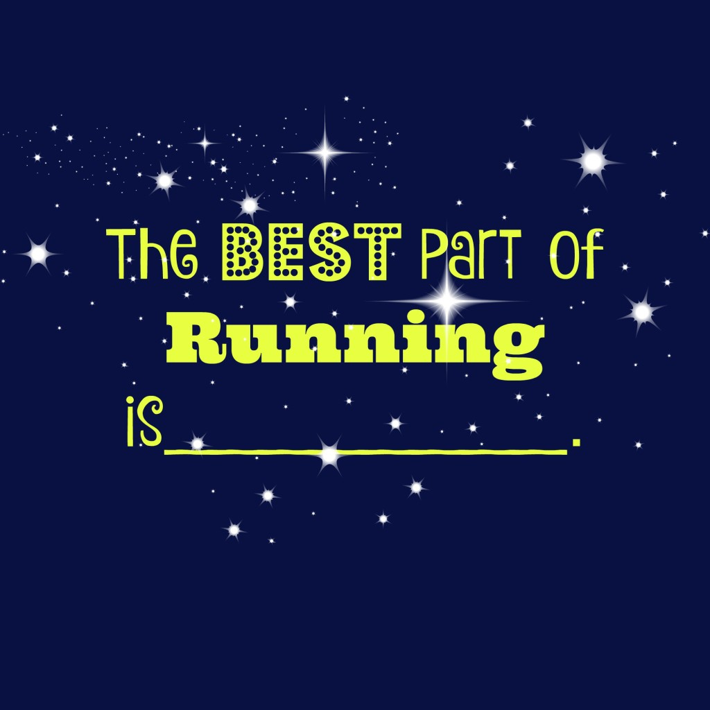 the best part of running