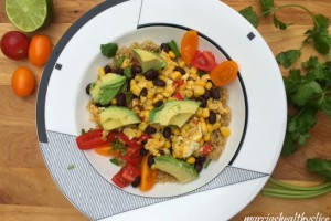 Quinoa & Egg Power Bowl