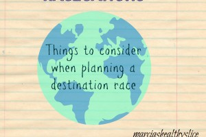 Racecation: Things to Consider When Planning One