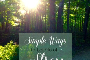 Stress-Relief Tips and a Giveaway