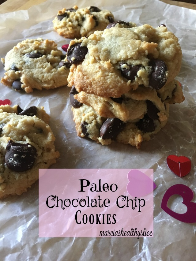 Paleo Chocolate Chip Cookies | The Healthy Slice