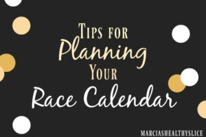 Tips for Planning Your Racing Calendar