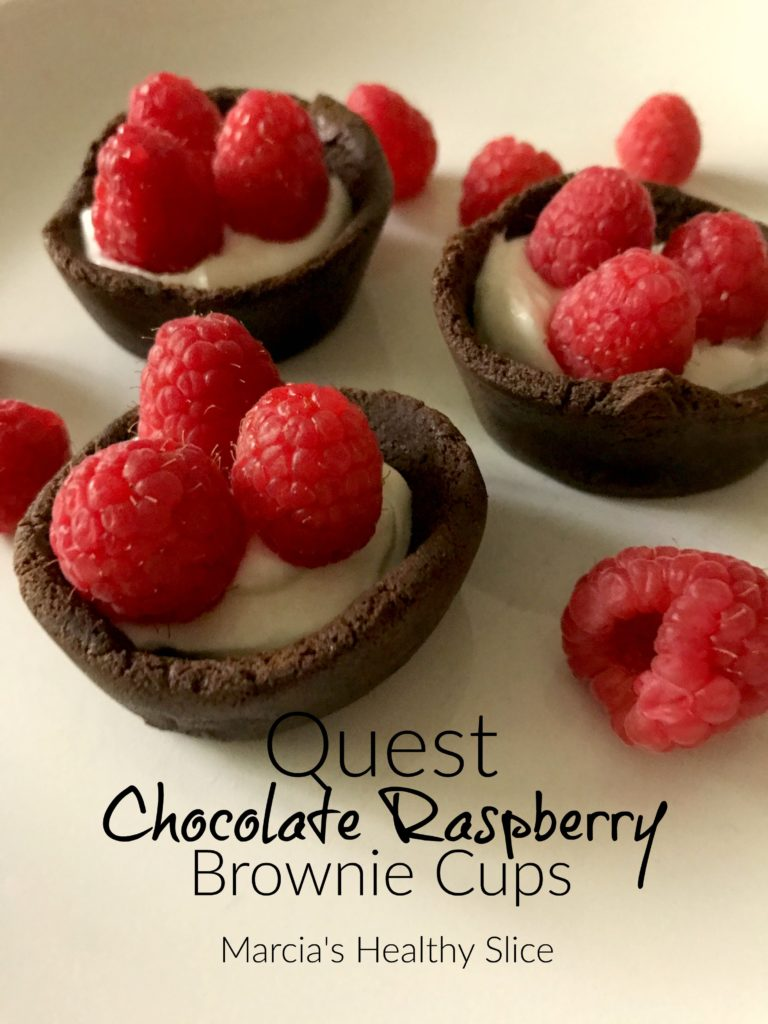 Quest Chocolate Raspberry Brownie Cups The Healthy Slice