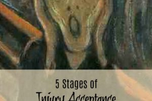 5 Stages of Injury Acceptance