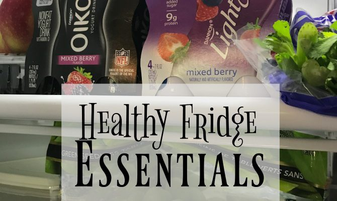 Healthy On-the-Go Fridge Essentials