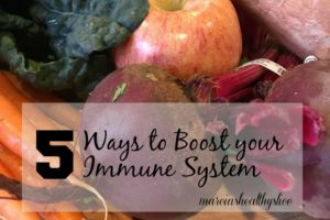Five Ways to Boost Your Immune System + Giveaway