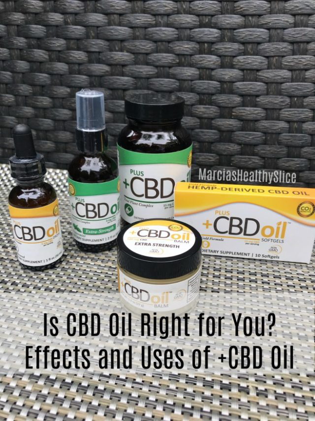 Is PlusCBD Oil Right for You? | The Healthy Slice